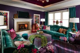 colorful living rooms. 3 Thoughtfully Colorful Living Rooms O