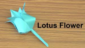 How To Make A Lotus Flower Out Of Paper Origami How To Make Paper Flowers Origami Lotus Flower Paper Lotus Flower Do Craft