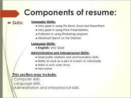 basic computer skills for resumes basic computer skills cv example for a resume fresh full wallpaper s