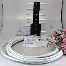 Bán Giá Niêm Yết Anten thông minh thu sóng DVB T2 + 15m dây cáp chỉ 34.499₫