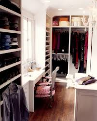 pretty makeup vanities in closet traditional with converted