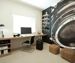 interior design home office. Small Home Office Design With Industrial Interior F