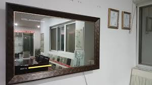 tv mirror glass elegant security 5mm one way two sheet widely used for intended 12