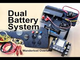 dual battery setup with detailed diy