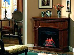 electric log fireplace insert logs with heater for s