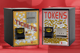 Vending Machines That Take Tokens Impressive Token And Ticket Dispensers Provide Event Organizers Better Accuracy