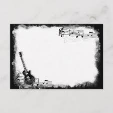 Musical Note Cards Zazzle Uk