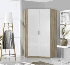 Rauch Celle 2 Door Wardrobe In Sanremo Oak Light And High