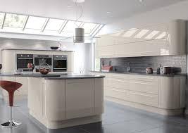 High Gloss Acrylic L Shape Kitchen Cabinet Gloss Kitchen Cabinets