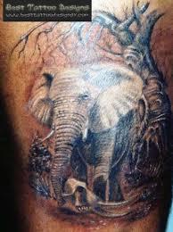 Best Forest Elephant Tattoo Design Tattoos Book 65000 Tattoos