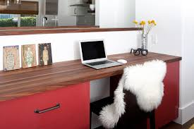 office counter tops. white lacquer desk home office midcentury with wood countertops tanker counter tops e