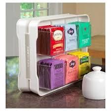 Tea Bag Display Stand Tea Bag Rack Stand Organizer Holder Kitchen Home Storage Teastand 5