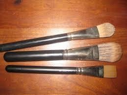 mac liquid foundation brush. comparison of mac foundation brushes 189/190/191 mac liquid brush d