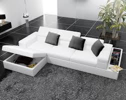 Small Picture modern white leather corner sofas with underneath storage Google