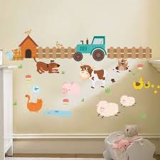 farm tractor wall stickers