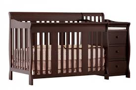 4 in 1 crib and changer