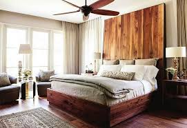 ... Cool headboard brings an interesting visual to the bedroom [Design:  Castro Design Studio]