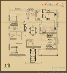 2500 sq ft 3 bedroom house plan with pooja room