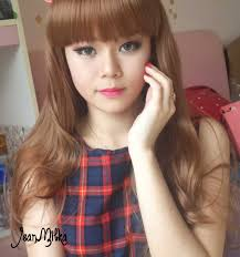 doll eyes with softlens