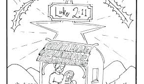 Printable Nativity Coloring Pages Nativity Coloring Pages For