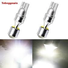 Cree Led Light Bulbs Replacement Super Bright White T10 W5w Cree Led Chips 6 Smd Led Lights