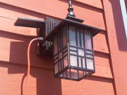 exterior wall lantern with built in electrical outlet. lights sconces · outdoor wall light with electrical outlet and hampton bay mission style black bronze highlight 4b2f0115 2afc exterior lantern built in i