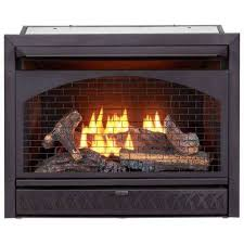 gas fireplace insert duel fuel technology 26 000 btu