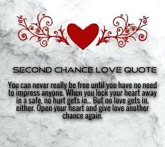 Second Love Quotes Classy Second Chance Quotes Packed With To Frame Perfect Take A Chance