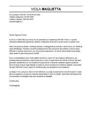 Lettera Di Presentazione Esempio Lettera Di Presentazione Cameriere Modello Lettera