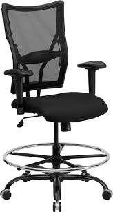 office drafting chair. Husky Office® Ares Series Big \u0026 Tall Mesh Drafting Chair With Height  Adjustable Arms Office Drafting Chair L