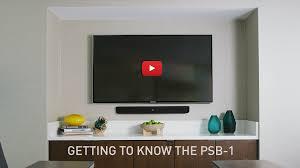 pro soundbar psb 1 jbl professional