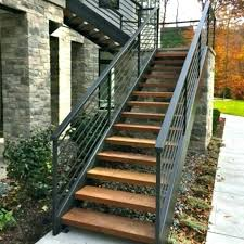handrail outdoor steps exterior stairs railings l shape stair supplieranufacturers at deck railing code