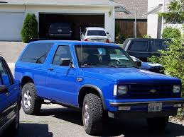 1990 Chevrolet S-10 Blazer Photos, Specs, News - Radka Car`s Blog