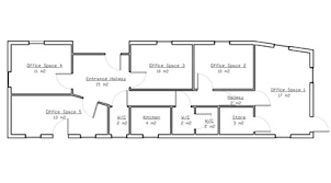 office space floor plan. Office Space Floor Plans Plan