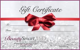 gift certificates on laser hair removal full body special by beauty smart