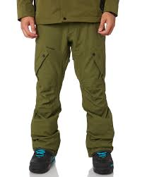 Volcom Pants Size Chart Articulated Snow Pant