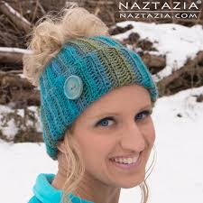 Crochet Bun Hat Free Pattern Custom Crochet Ribbed Bun Hat By Donna Wolfe From Naztazia