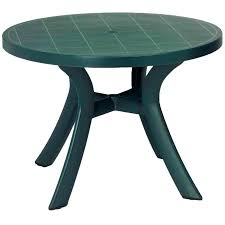 plastic round outdoor table round plastic patio table home design round green plastic garden table round