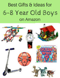 Best Gifts \u0026 Ideas for Young School Age Boys (6-8 Years Old) on Amazon