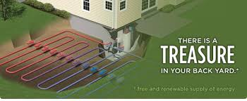 residential geothermal heat pump. Wonderful Heat How A Geothermal Heating And Cooling System Works Inside Residential Geothermal Heat Pump P