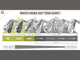 Taylormade Custom Shaft Chart Irons Guide Taylormade Golf Which Irons Suit Your Game