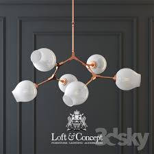 chandelier lindsey adelman branching bubble chandelier 8 milk
