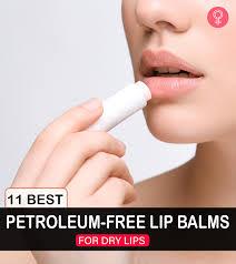 11 best petroleum free lip balms to