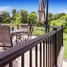 aluminum porch railing systems. williams architectural products are available at menards. aluminum deck railing menards - porch systems