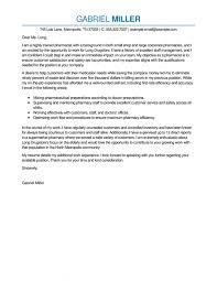Pharmacy Cover Letter Examples Resume Cover Letter Pharmacist Resume Templates Design For