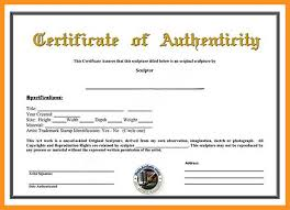 Certificate Of Authenticity Template Inspiration Art Certificate Of Authenticity Template Certificate Of Authenticity