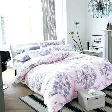 dusty pink duvet cover pink duvet cover queen cotton fabric blossoming peony printed light pink bedding dusty pink duvet cover
