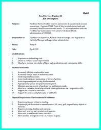 Professional Cashier Resume Examples Curriculum Vitae