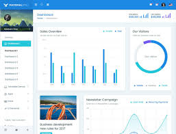 Bootstrap Material Design Example 20 Best Bootstrap Admin Templates 2020 Athemes