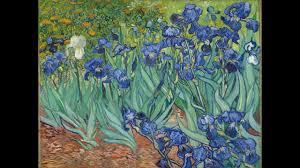 irises by vincent van gogh detailed views